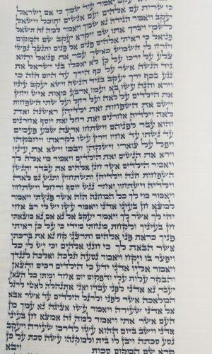 ספר תורה ספרדי דגם יצחק